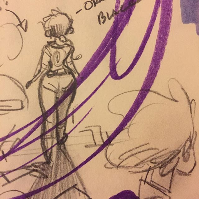 Why is it so hard to recreate the energy and design of a tiny rough sketch