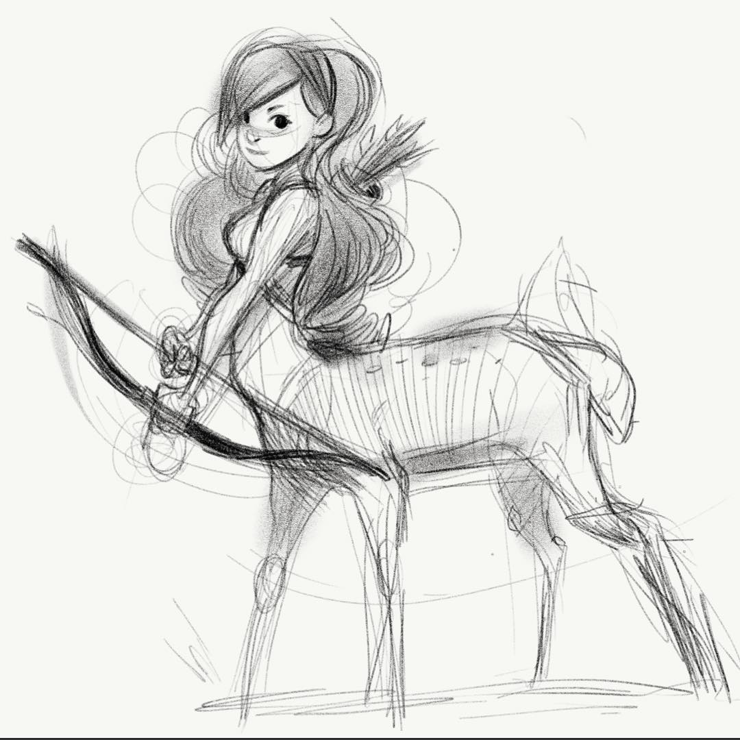 Wish this app had layers. Just sketching a bit