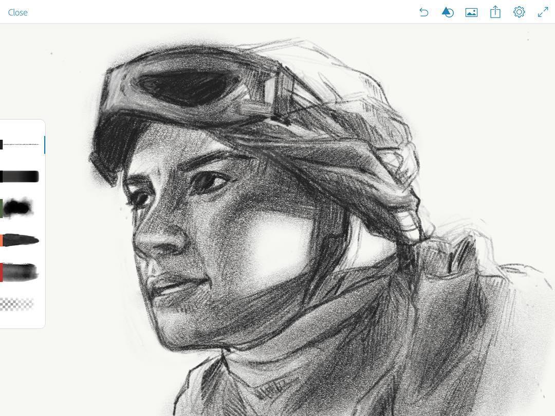 Playing on my iPad